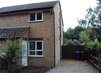 Thumbnail 2 bedroom semi-detached house to rent in Anderson Walk, Bury St. Edmunds