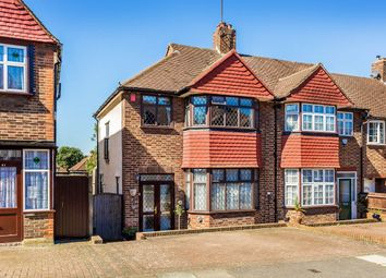 Thumbnail 3 bed terraced house for sale in Dunster Avenue, North Cheam, Sutton