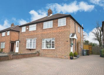 Thumbnail 3 bed semi-detached house for sale in Chamberlain Crescent, Shirley, Solihull