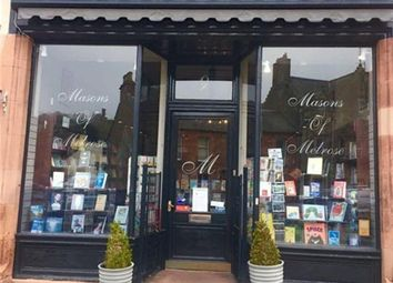 Thumbnail Retail premises for sale in Independent Bookshop And Post Office TD1, Melrose, Scottish Borders