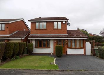 Thumbnail 3 bed detached house for sale in Mallard Close, Walsall, West Midlands