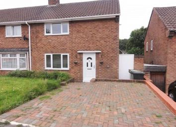 Thumbnail 2 bedroom terraced house to rent in Westacre Crescent, Wolverhampton