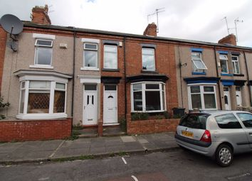 Thumbnail 3 bed terraced house to rent in Elmfield Terrace, Darlington