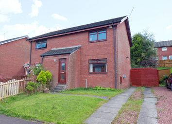 Thumbnail 2 bed semi-detached house for sale in Colintravie Avenue, Glasgow