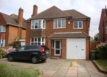 Thumbnail 4 bed detached house to rent in Naseby Road, Solihull