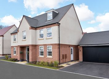"Thumbnail 5 bedroom detached house for sale in ""Lichfield"" at Tamora Close, Heathcote, Warwick"