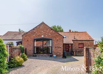 Thumbnail 4 bed barn conversion for sale in The Green, Freethorpe, Norwich