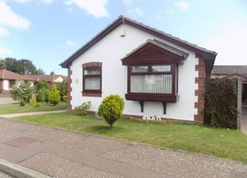 Thumbnail 2 bed detached bungalow for sale in Whimbrel Drive, Bradwell, Great Yarmouth