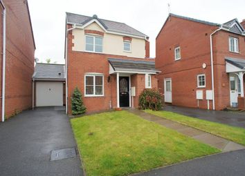 Thumbnail 3 bed detached house to rent in Welland Road, Hilton, Derby
