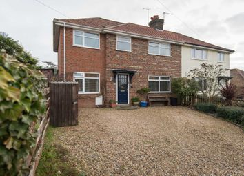 Thumbnail 4 bed semi-detached house for sale in Myrtle Avenue, Old Costessey, Norwich