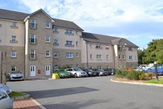 Thumbnail 2 bed flat to rent in Craighall Court, Ellon, Aberdeenshire
