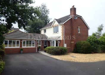 Thumbnail 4 bed detached house for sale in Lily Way, Rogerstone, Newport, Gwent.