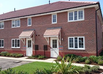 Thumbnail 2 bed end terrace house to rent in Tacitus Way, North Hykeham, Lincoln
