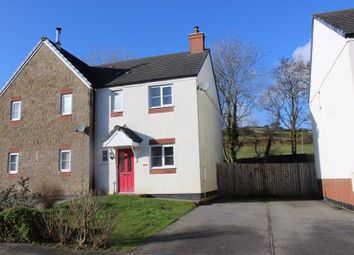 Thumbnail 3 bed semi-detached house for sale in Cookworthy Close, Penwithick, St. Austell