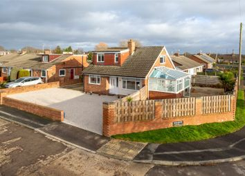 Thumbnail 3 bed detached bungalow for sale in Heather Close, Huntington, York