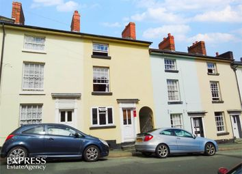Thumbnail 3 bed terraced house for sale in Crescent Street, Newtown, Powys