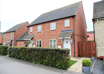 Thumbnail 2 bed semi-detached house for sale in Hawthorn Avenue, Mawsley, Kettering