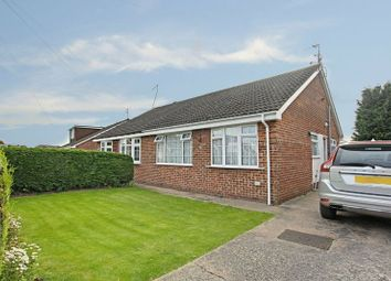 Thumbnail 2 bed semi-detached bungalow for sale in Gallands Road, Sproatley, Hull