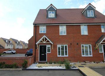 Thumbnail 4 bedroom semi-detached house for sale in Antigua Way, Newton Leys, Milton Keynes, Buckinghamshire
