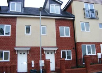 Thumbnail 3 bed town house to rent in Brentleigh Way, Hanley, Stoke On Trent, Staffordshire