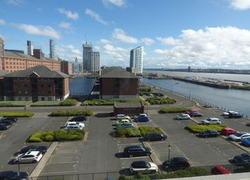 Thumbnail 1 bed flat to rent in Jesse Hartley Way, Liverpool