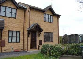 Thumbnail 3 bed end terrace house to rent in Corsican Pine Close, Newmarket, Suffolk