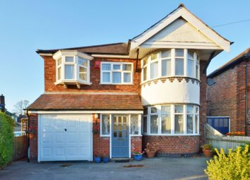 Thumbnail 4 bed detached house for sale in Overdale Road, Knighton, Leicester