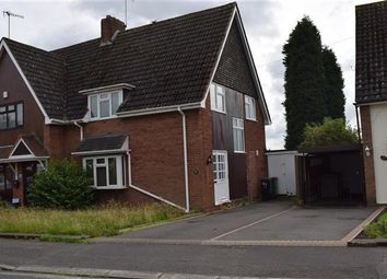 Thumbnail 3 bed semi-detached house for sale in Langstone Road, Russell Hall Estate, Dudley