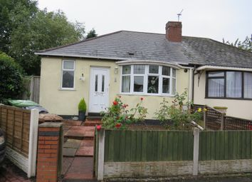 Thumbnail 1 bedroom semi-detached bungalow for sale in Morcroft, Bilston