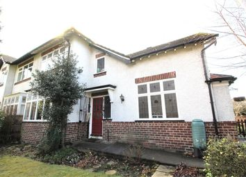 Thumbnail 3 bed semi-detached house for sale in Hollytree Road, Woolton, Liverpool, Merseyside