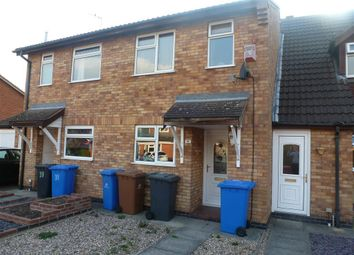 Thumbnail 2 bed town house to rent in Nesfield Close, Alvaston, Derby