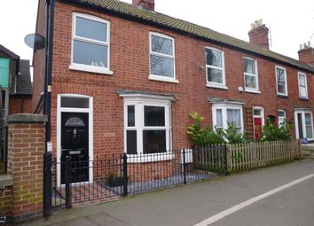 Thumbnail 2 bed end terrace house for sale in East Banks, Sleaford