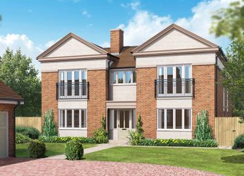 "Thumbnail 4 bedroom detached house for sale in ""The Watersfield"" at Kings Drive, Midhurst"