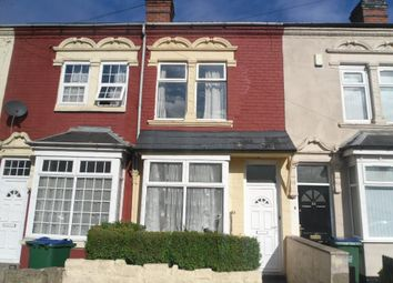 Thumbnail 2 bed terraced house to rent in Highbury Road, Smethwick