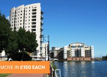 Thumbnail 1 bed flat to rent in Atlas House, Celestia, Cardiff Bay
