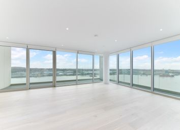 Thumbnail 3 bed flat for sale in Liner House, Royal Wharf, London