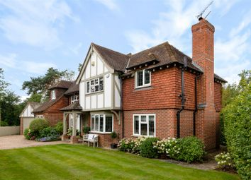 Thumbnail 4 bed detached house for sale in Dedswell Drive, West Clandon, Guildford