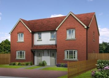 Thumbnail 3 bed semi-detached house for sale in Quarry Field, Lugwardine, Herefordshire