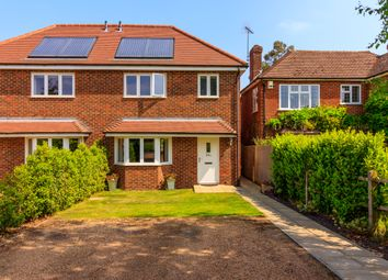 Thumbnail 4 bed semi-detached house for sale in New Inn Lane, Burpham, Guildford