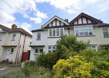 Thumbnail 4 bed semi-detached house to rent in Kingsmead Avenue, Tolworth, Surbiton