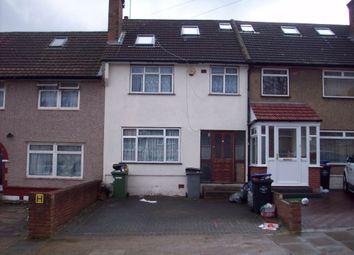 Thumbnail 4 bed terraced house to rent in Warren Road, Neasden, London, UK