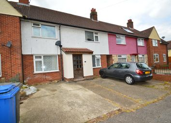 Thumbnail 3 bed terraced house for sale in Reynolds Road, Ipswich
