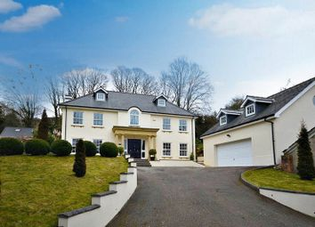 Thumbnail 5 bed detached house for sale in Highfield Close, Llanfrechfa, Cwmbran