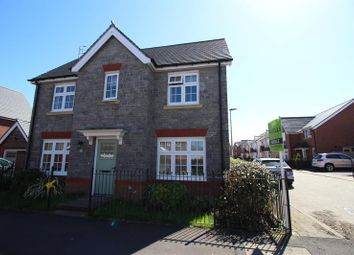 Thumbnail 4 bed detached house for sale in Swallowfield Drive, Penallta, Hengoed