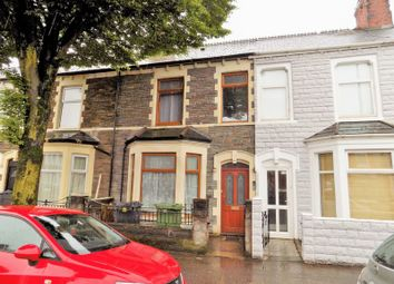 Thumbnail 4 bedroom terraced house for sale in Corporation Road, Cardiff