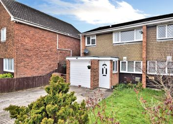 Thumbnail 3 bed semi-detached house for sale in Devitt Close, Reading