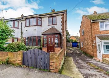 Thumbnail 3 bed semi-detached house for sale in Frittenden Road, Wainscott, Rochester, Kent