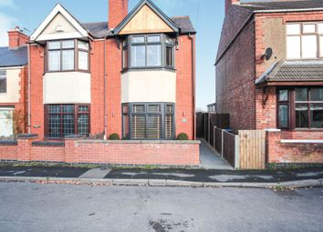 Thumbnail 3 bed semi-detached house for sale in New Street, Earl Shilton, Leicester
