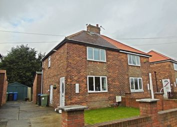 Thumbnail 2 bed terraced house for sale in Hessewelle Crescent, Haswell, Durham