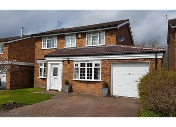 Thumbnail 4 bed detached house for sale in Lancelyn Drive, Wilmslow